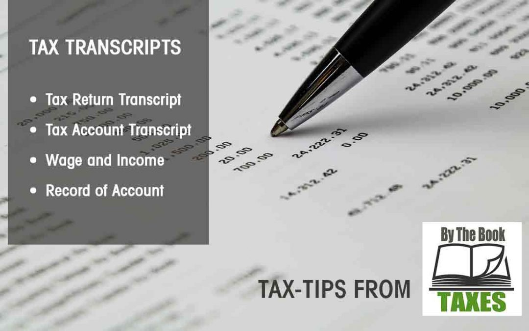 Tax Transcripts and Why They Matter