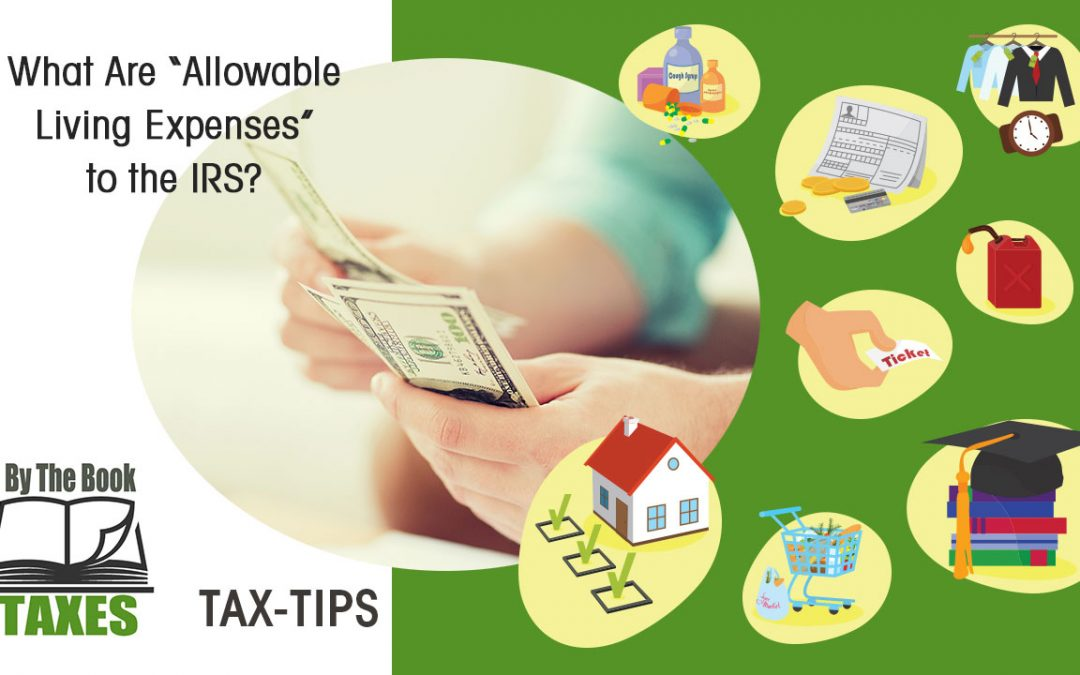 "What Are ""Allowable Living Expenses"" to the IRS?"