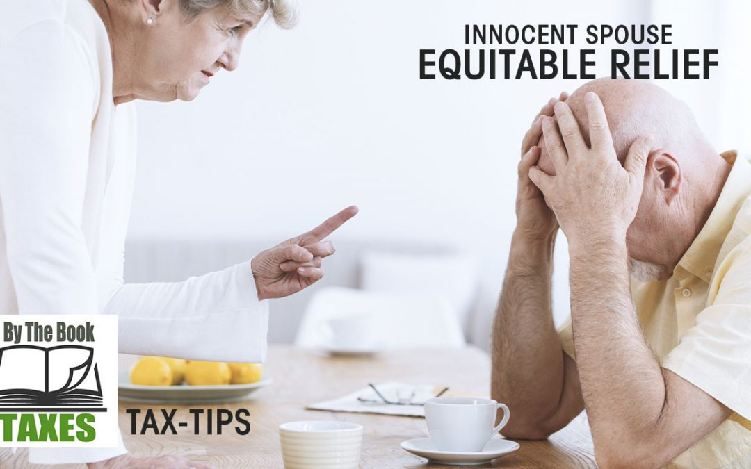 Innocent Spouse – Equitable Relief